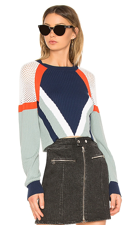 Rag & Bone Lark Top in Blue