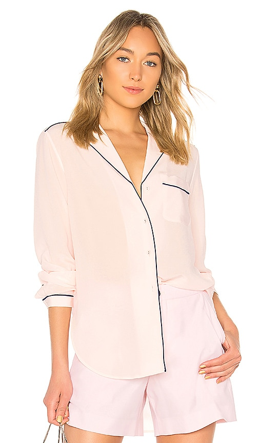 Rag & Bone Alyse Shirt in Pink