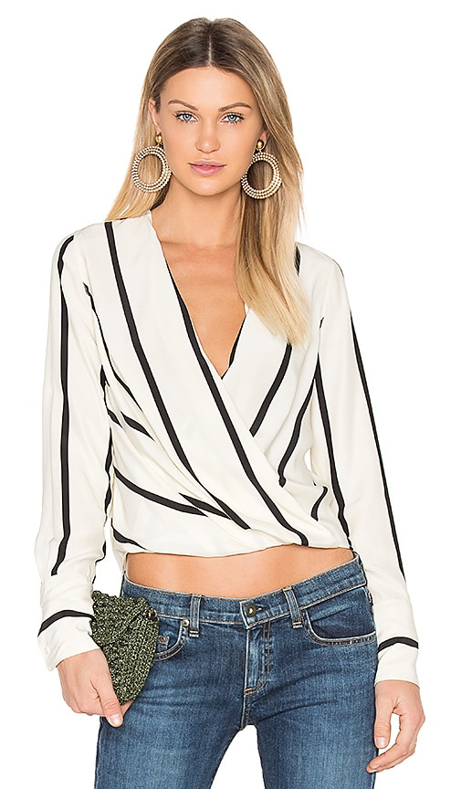 Rag & Bone Max Blouse in White