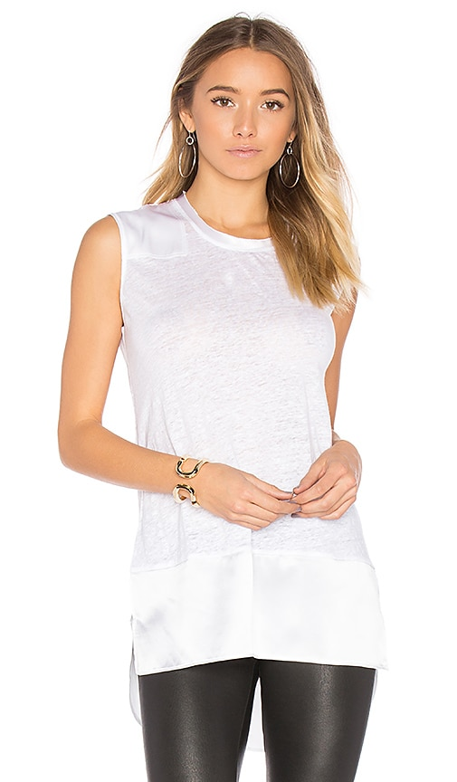 Rag & Bone Riley Tank in White