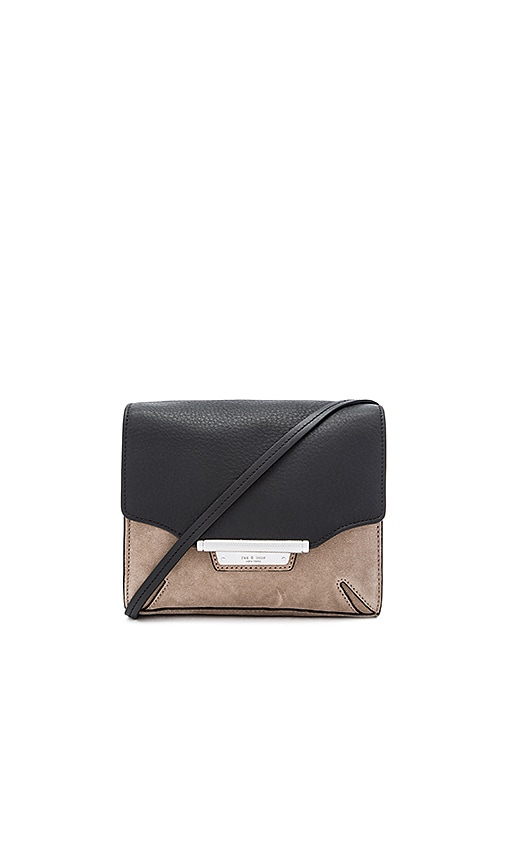 Rag & Bone Moto Crossbody in Black