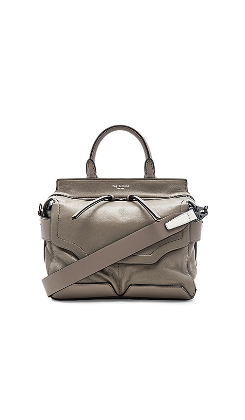 Rag & Bone Small Pilot Satchel in Taupe