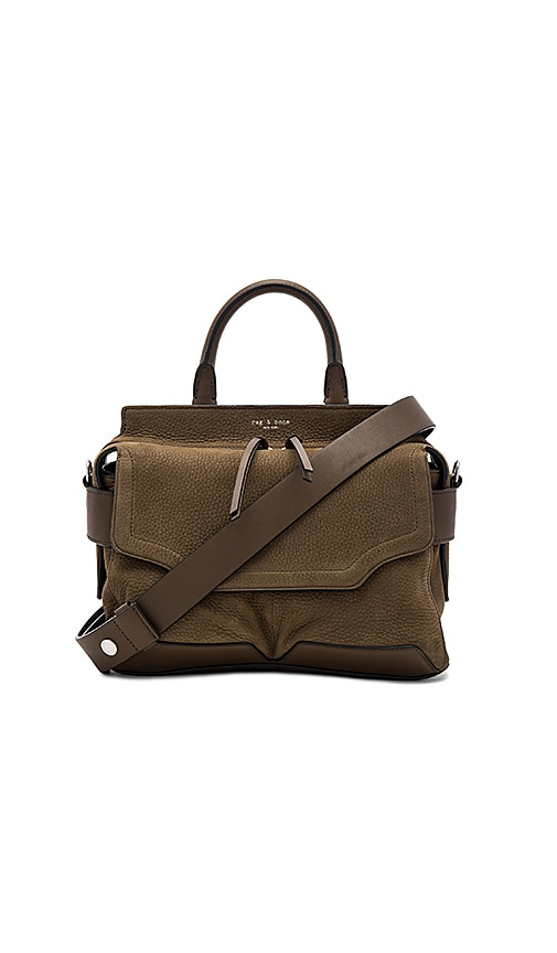 Rag & Bone Small Pilot Satchel in Army