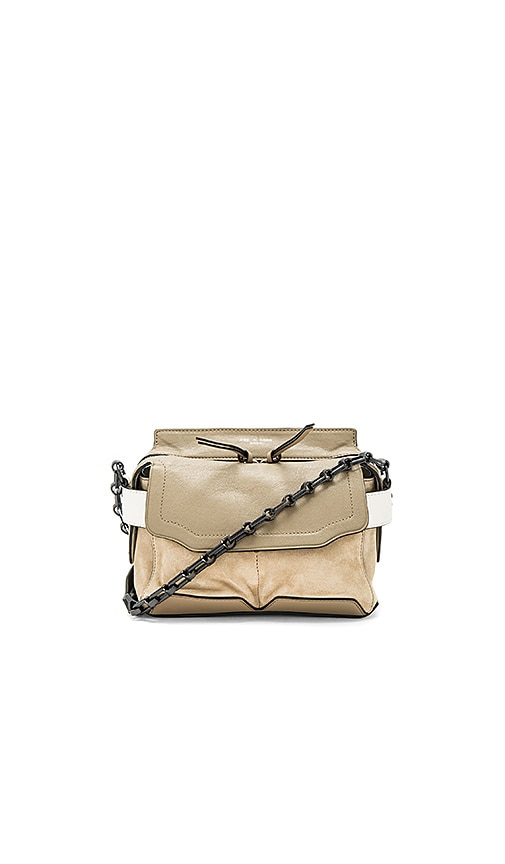 Rag & Bone Mirco Pilot Satchel in Taupe