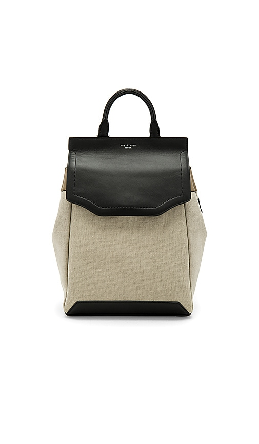 Rag & Bone Pilot Backpack II in Beige