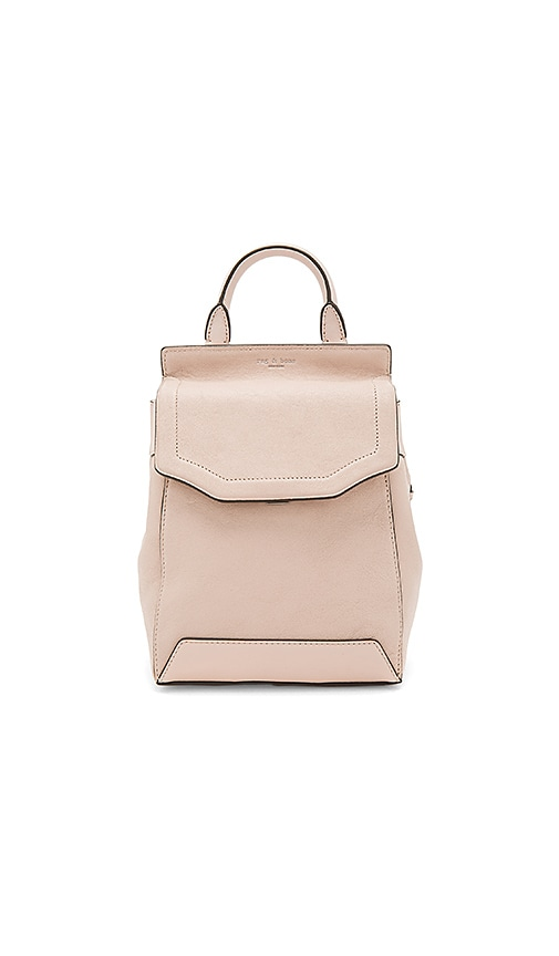 Rag & Bone Small Pilot Backpack II in Blush
