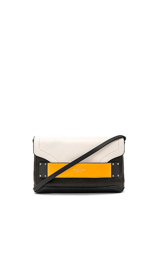Rag & Bone Pilot Clutch in Black