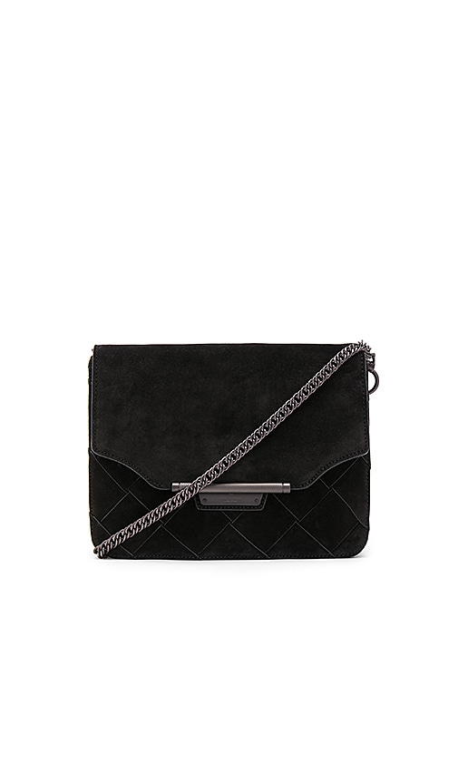 Rag & Bone Moto Clutch in Black