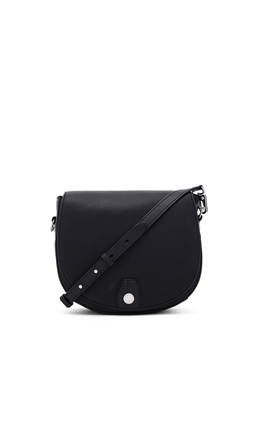 Rag & Bone Flight Saddle Bag in Black
