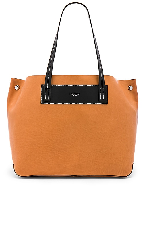 Rag & Bone Compass Everyday Tote in Cognac