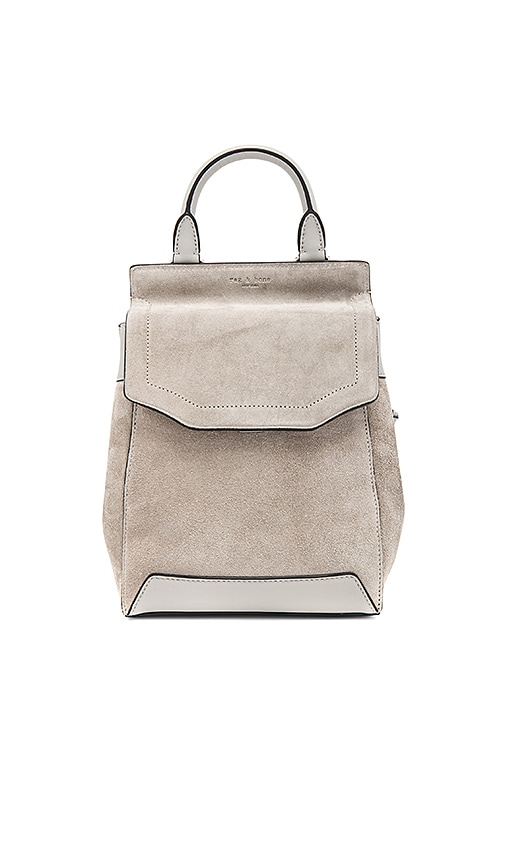 Rag & Bone Small Pilot Backpack in Gray