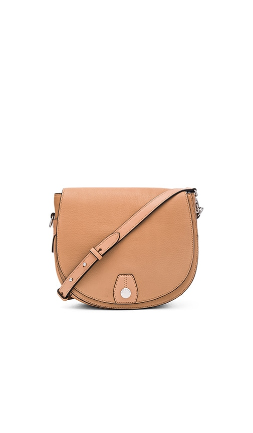 Rag & Bone Flight Saddle Bag in Nude