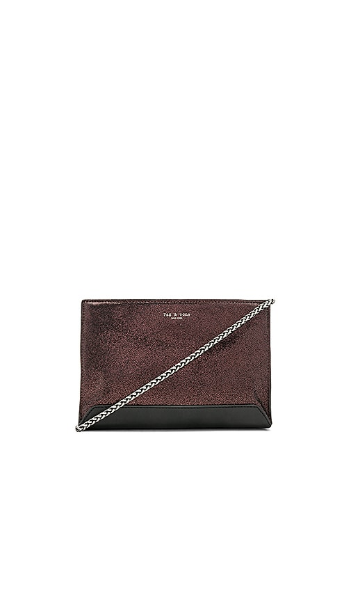 Rag & Bone Mini Compass Bag in Metallic Bronze