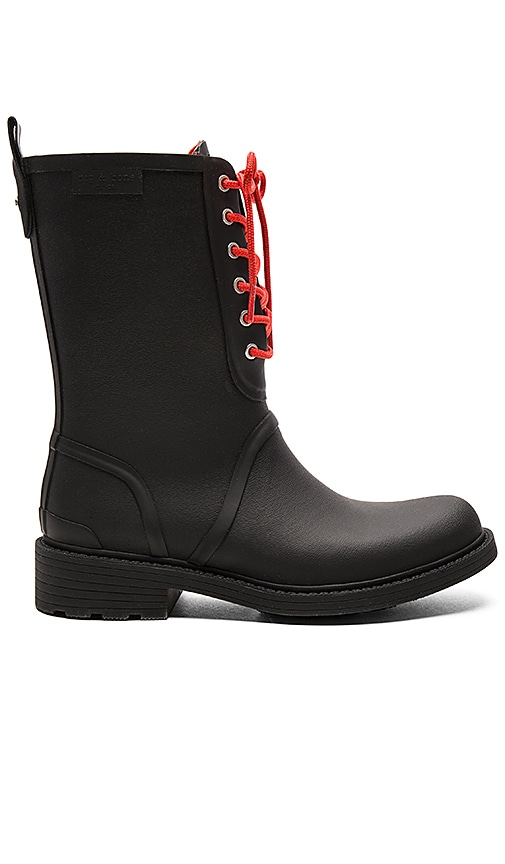 Rag & Bone Ansel Rain Boot in Black