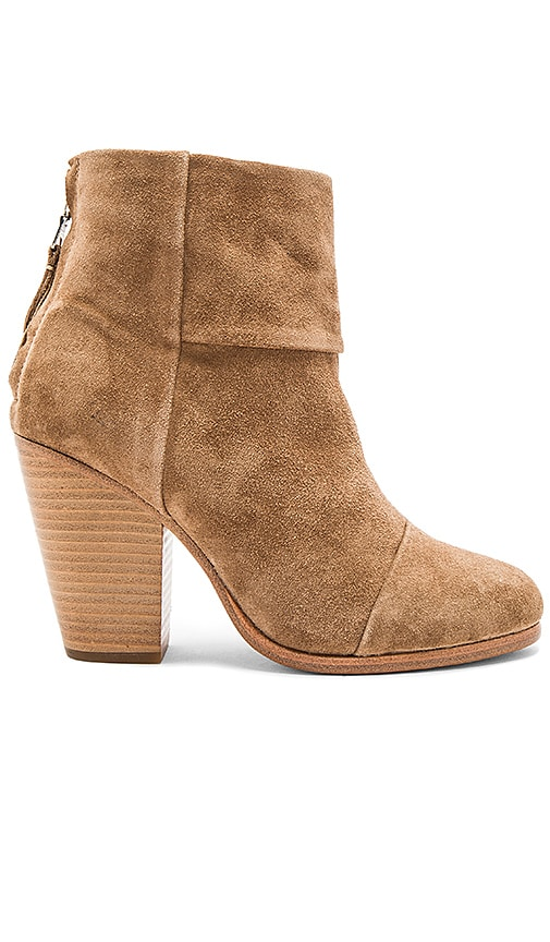 Rag & Bone Classic Newbury Bootie in Tan