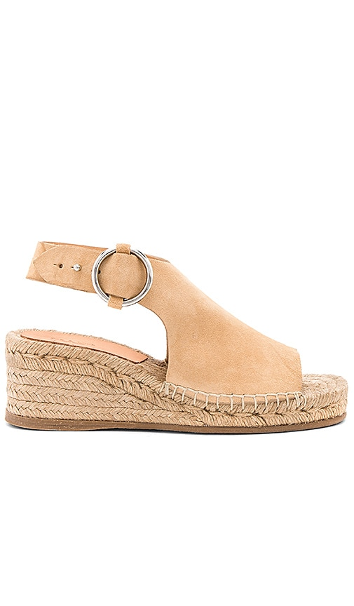 Rag & Bone Calla Wedge in Tan