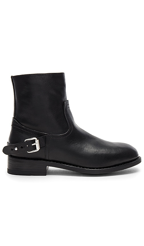 Rag & Bone Oliver Zip Boot in Black