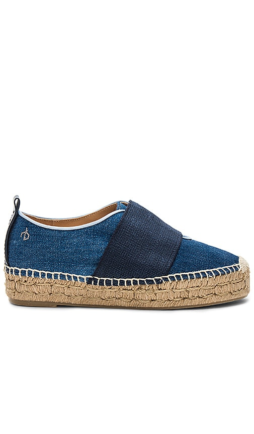Rag & Bone Nina Espadrille in Blue