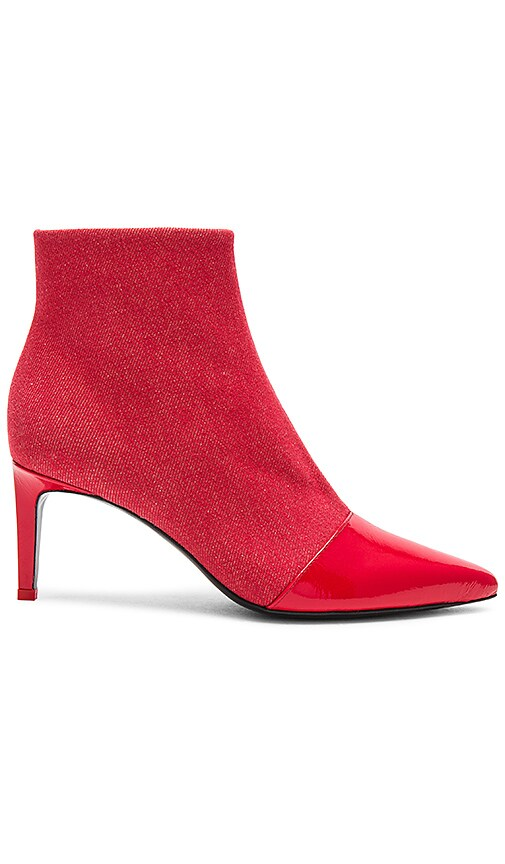 Rag & Bone Beha Boot in Red