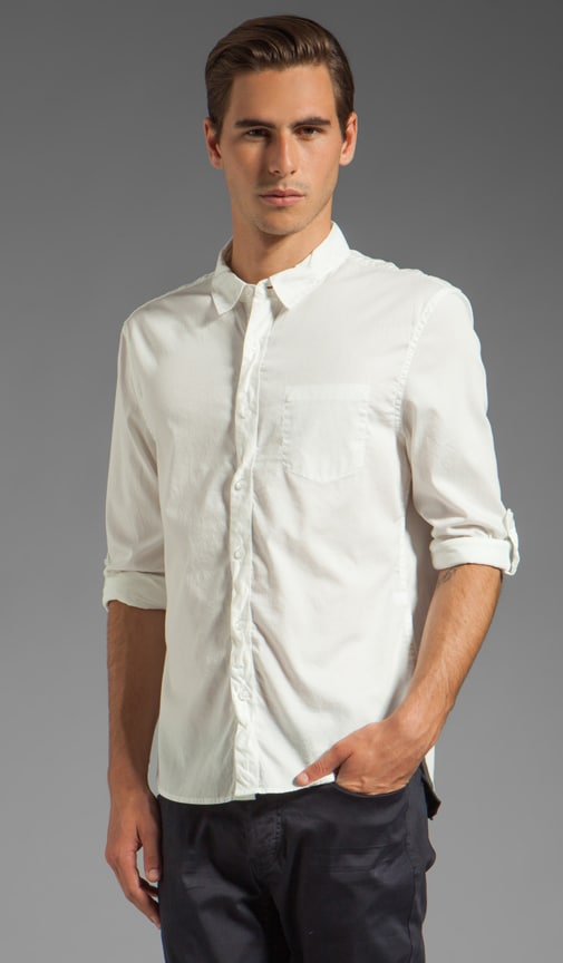Long Sleeve Basic Button Down Shirt