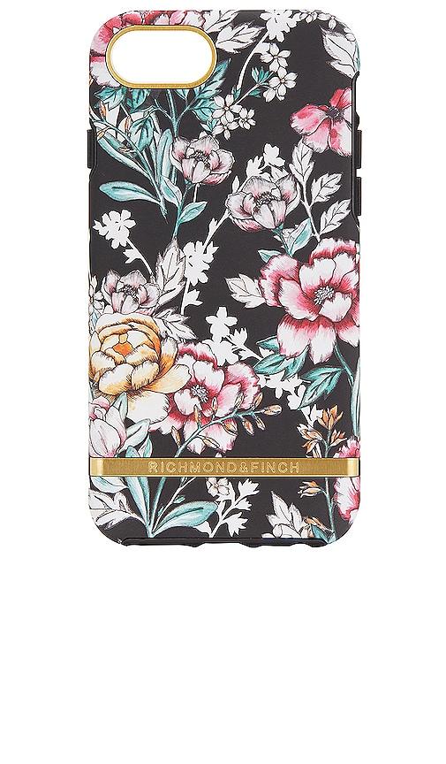 Black Floral iPhone 6/7/8 Plus Case in Black Richmond & Finch CKAKKU