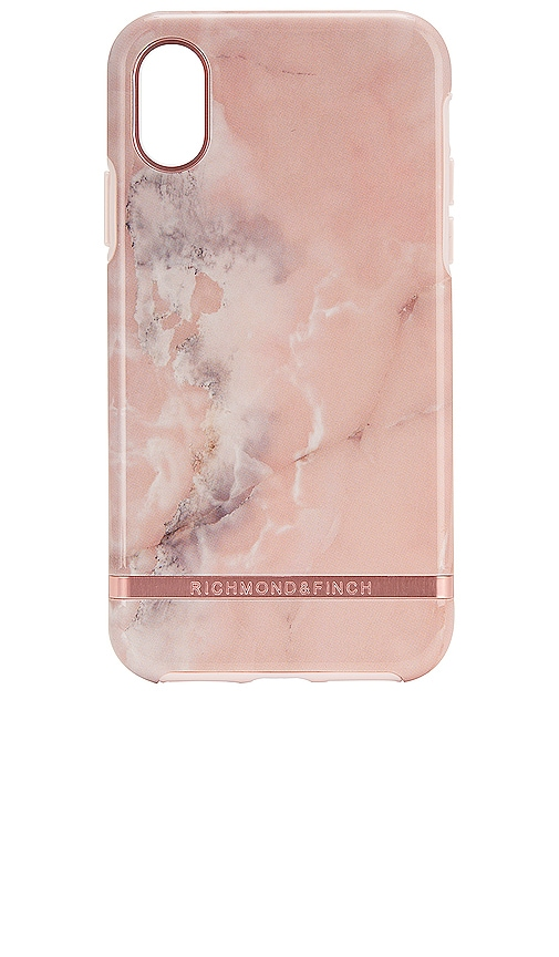 Pink Marble iPhone X/XS Case