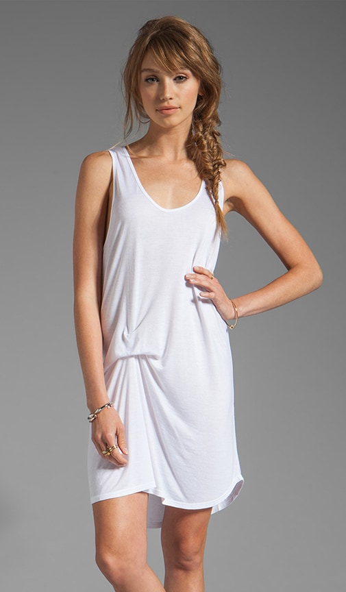 Bey Scoop Neck Tunic Dress