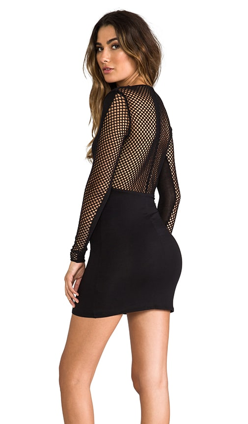 Lenny Mesh Back Dress