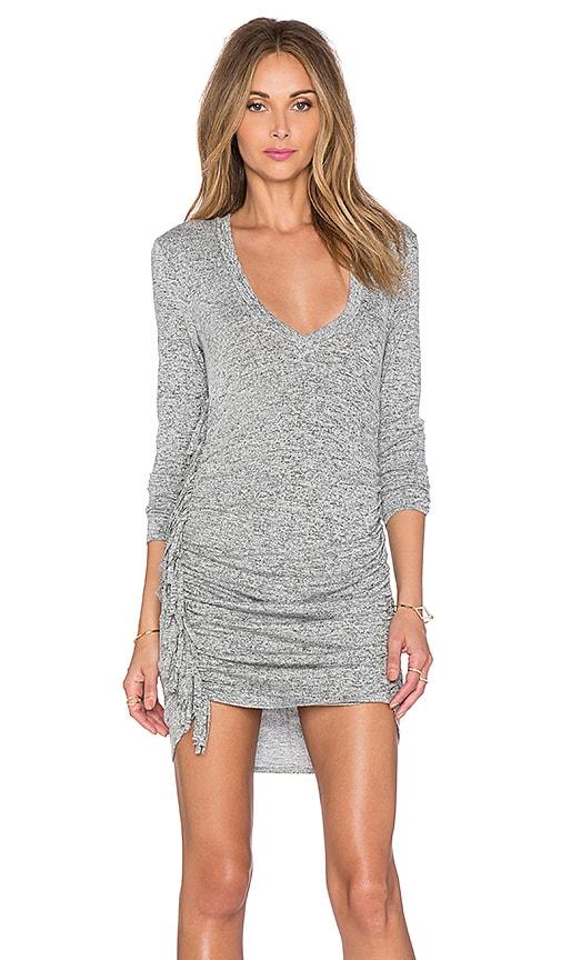 Riller & Fount x REVOLVE Ophelia Fringe Dress in Gray