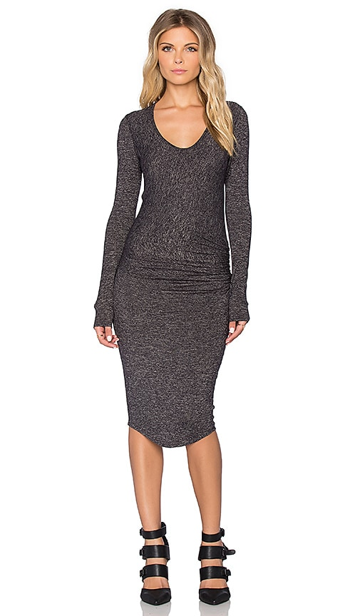 Riller & Fount Harlow Dress in Gray