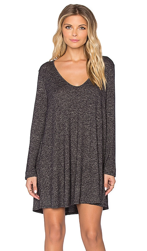 Riller & Fount Milly Dress in Charcoal