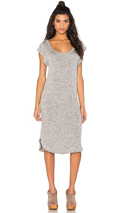 Riller & Fount Marisa Midi Dress in Gray