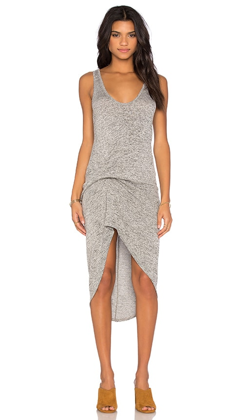 Riller & Fount Bianca Dress in Gray