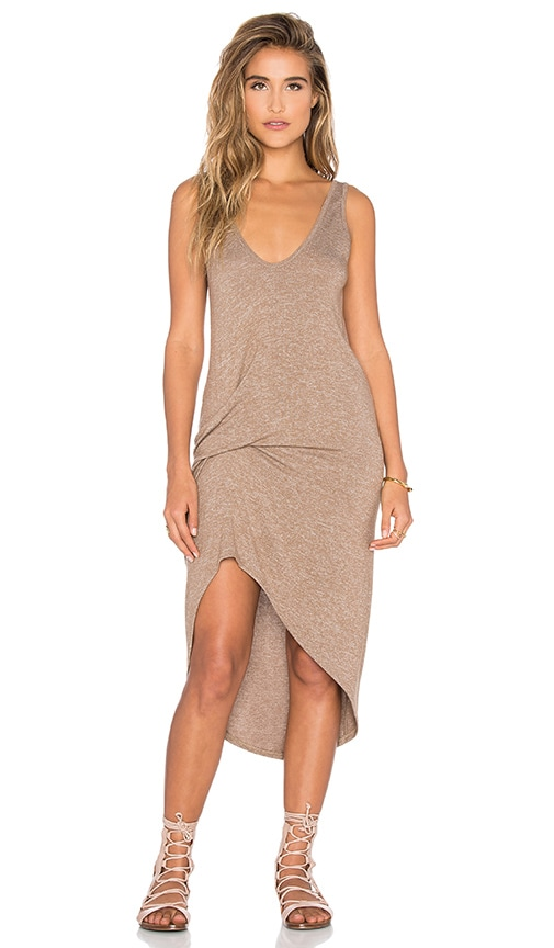 Riller & Fount Bianca Dress in Sandstone