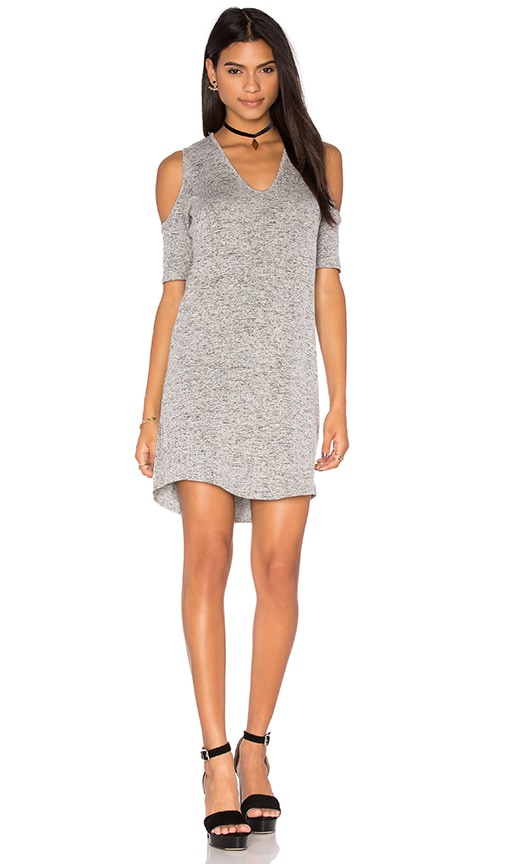 Riller & Fount Cory Mini Dress in Gray