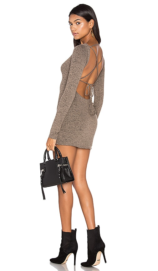 Riller & Fount Marina Dress in Brown