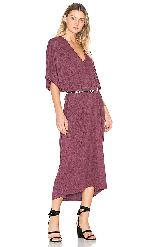 Riller & Fount Luca Dress in Burgundy