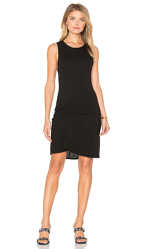 Riller & Fount Ricky Tank Dress in Black