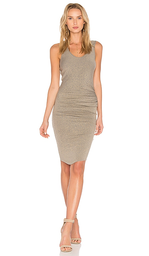 Gia Ruched Midi Dress