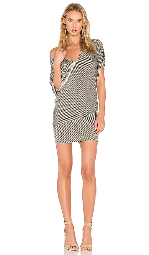 Riller & Fount Hank Drape Back Tunic in Gray