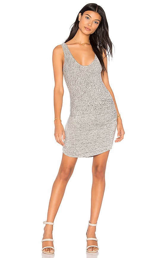 Riller & Fount Viv Tank Dress in Gray
