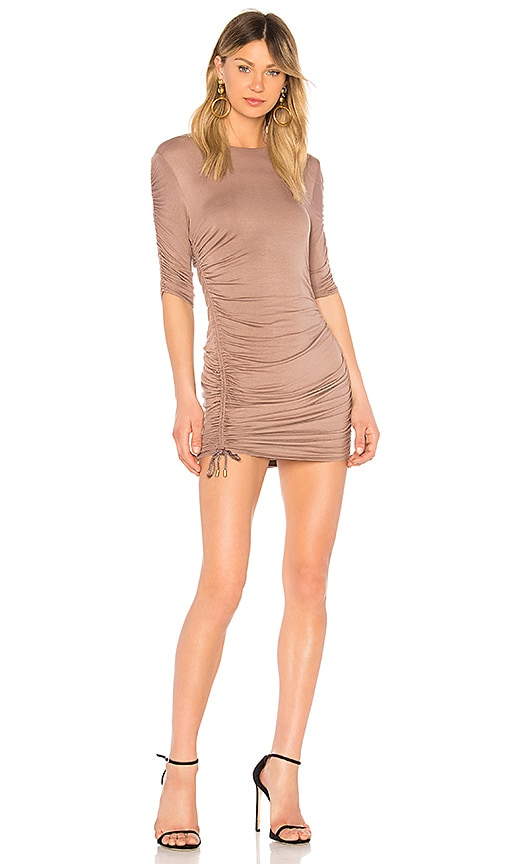 Riller & Fount Felicia Dress in Brown