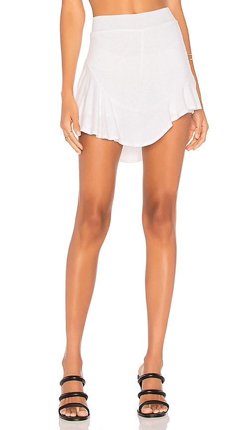 Riller & Fount Buzzy Skort in White