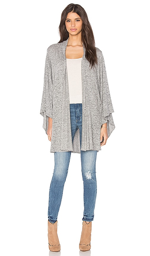 Riller & Fount Lauren Cardigan in Pebble