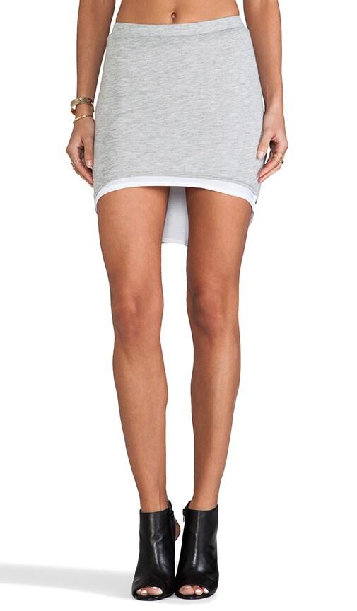 Reversible High-Low Mini Skirt