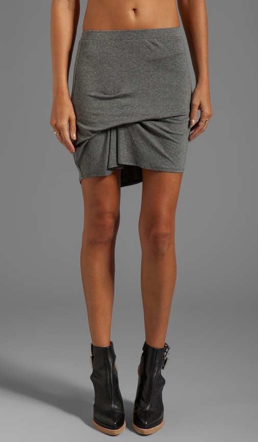 Bill Pinched Front Mini Skirt