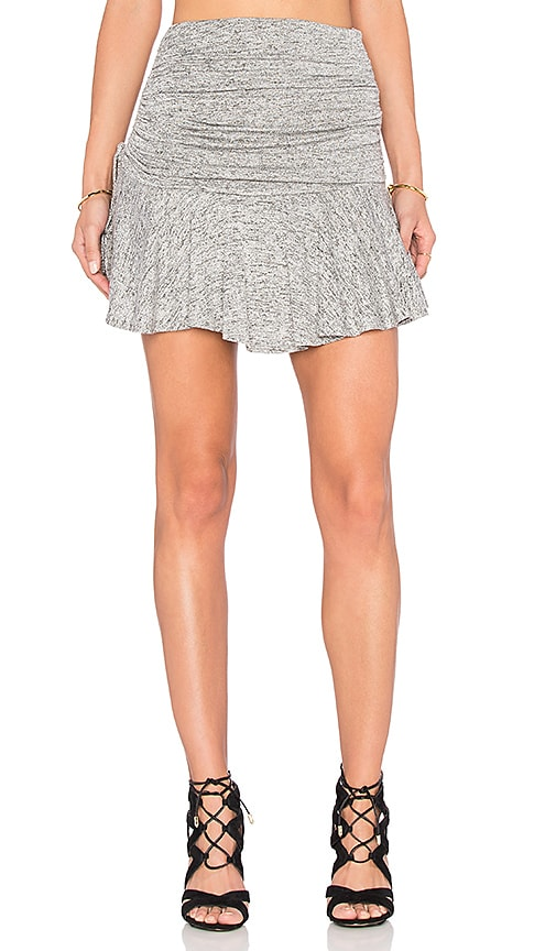 Riller & Fount Sissy Yoke Skirt in Gray