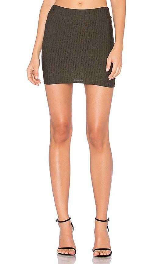 Riller & Fount Casey Mini Skirt in Army