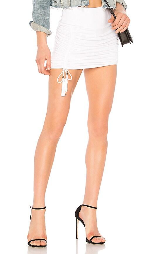 Riller & Fount Peggy Skirt in White
