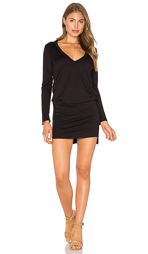 Riller & Fount Phillis Romper in Black